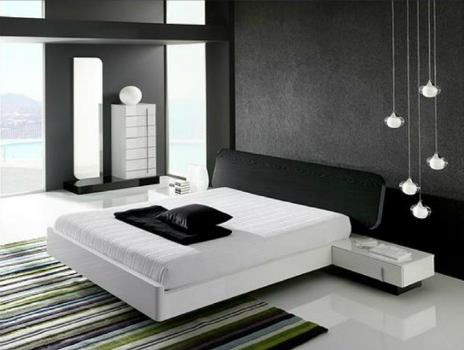 Monochrome Inspiring Bedroom Interiors bedroom interiors Monochrome Inspiring Bedroom Interiors 1 13