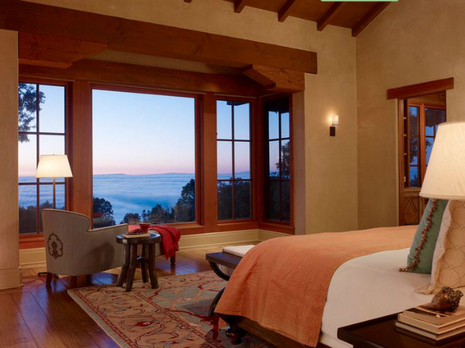 modern master bedrooms Dazzling Modern Master Bedrooms With Landscape Views 13 6