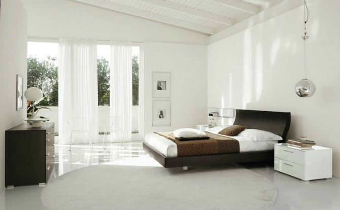 Interior design ideas for a minimalist master bedroom for Minimalist master bedroom ideas