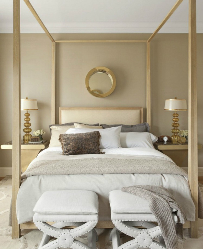 bedroom mirrors The Most Beautiful Gold Master Bedroom Mirrors 2 16