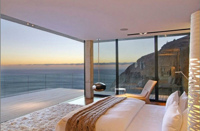 modern master bedrooms Dazzling Modern Master Bedrooms With Landscape Views 2 18