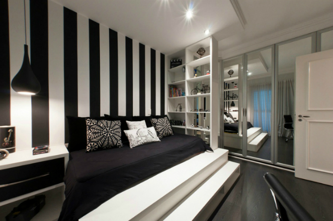 Monochrome Inspiring Bedroom Interiors bedroom interiors Monochrome Inspiring Bedroom Interiors 3 13