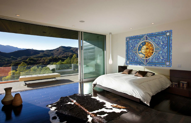 modern master bedrooms Dazzling Modern Master Bedrooms With Landscape Views 3 19