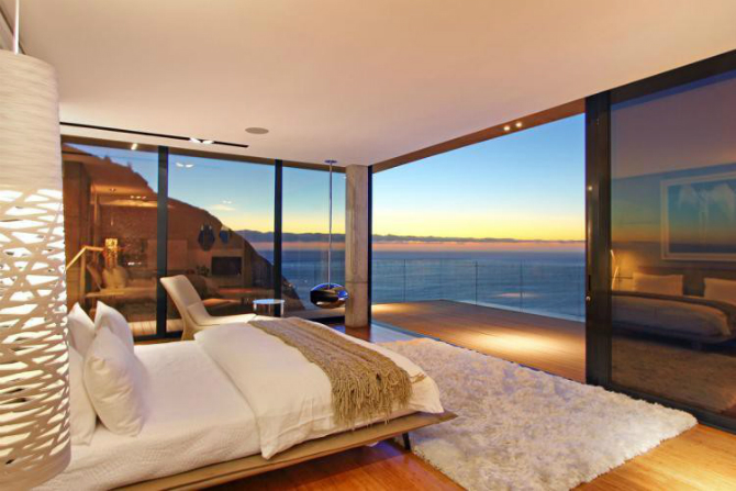 modern master bedrooms Dazzling Modern Master Bedrooms With Landscape Views 5 17