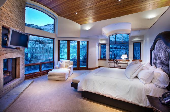 Dazzling Modern Master Bedrooms With Landscape Views modern master bedrooms Dazzling Modern Master Bedrooms With Landscape Views 6 13