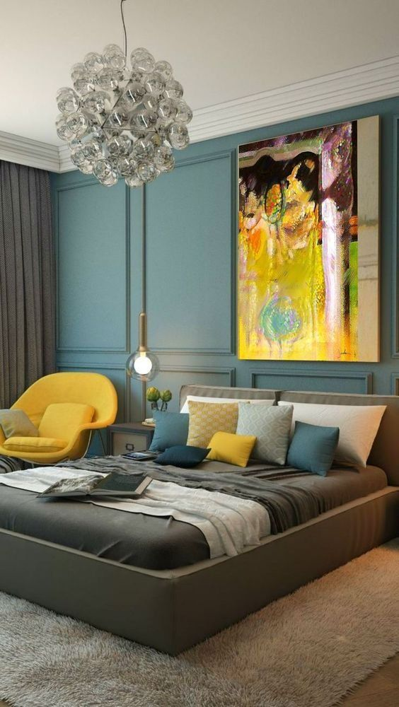 50 Beautiful Bedroom Designs Found on Pinterest beautiful bedroom designs 50 Beautiful Bedroom Designs Found on Pinterest Contemporary Master Bedroom Design with yellow touch 1