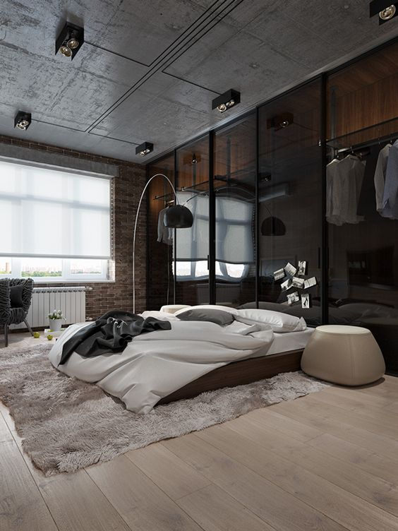 50 Beautiful Bedroom Designs Found on Pinterest beautiful bedroom designs 50 Beautiful Bedroom Designs Found on Pinterest Industrial bedroom design with quite a big character 1