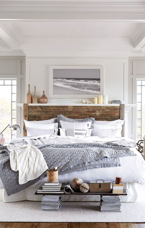 50 Beautiful Bedroom Designs Found on Pinterest beautiful bedroom designs 50 Beautiful Bedroom Designs Found on Pinterest Slight nautical shipwreck theme on this contemporary grey master bedroom 1