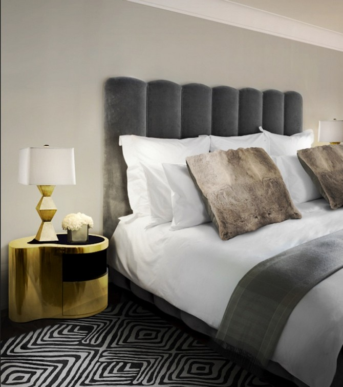 Trends for 2016 the best nightstands for a master for Best bed designs 2016