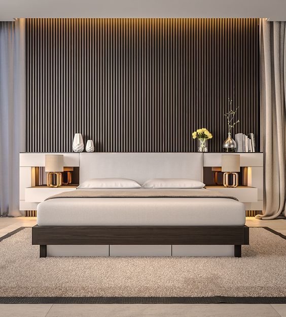 50 Beautiful Bedroom Designs Found on Pinterest beautiful bedroom designs 50 Beautiful Bedroom Designs Found on Pinterest Ultra modern bedroom with mid century feel 1