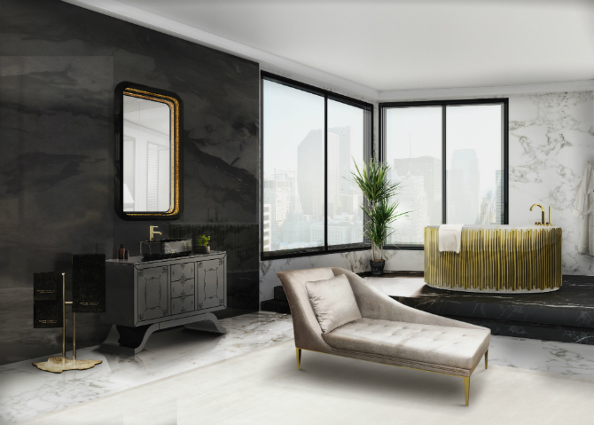 Master Bathroom Designs for the Perfect Bedroom Interior Master Bathroom Designs Master Bathroom Designs for the Perfect Bedroom Interior 12 metropolitan washbasins ring mirror envy chaise long symphony bathtub maison valentina 1 HR