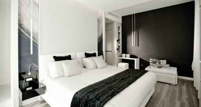 Brilliant Master Bedrooms in Italian Hotels for iSaloni 2016 master bedrooms Brilliant Master Bedrooms in Italian Hotels Glamour Room of Belvedere Hotel