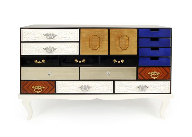 soho family Soho Family: The Irreverence of Luxury Bedroom Furniture Soho sideboard