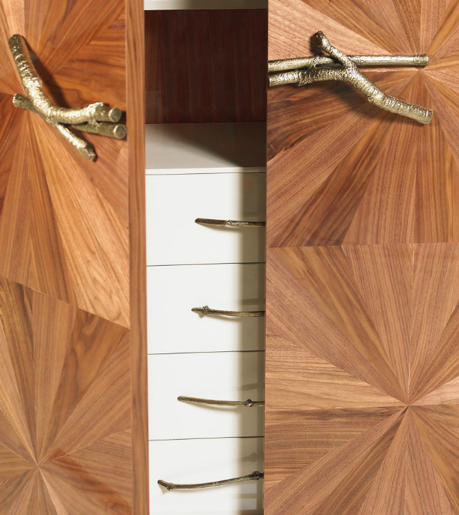 bedroom cabinets Bedroom Cabinets: The Art of Designing WALLNUT CABINEt by Ginger and jagger