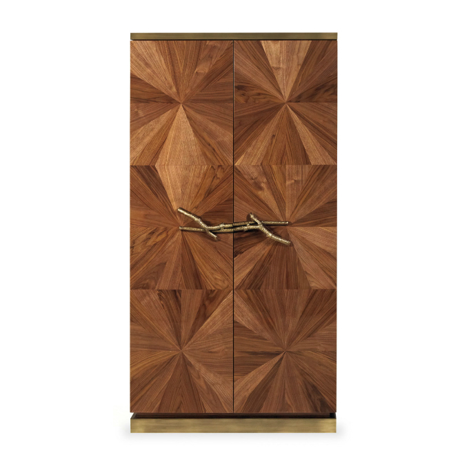 Bedroom Cabinets Bedroom Cabinets: The Art of Designing Walnut Cabinet by ginger and jagger