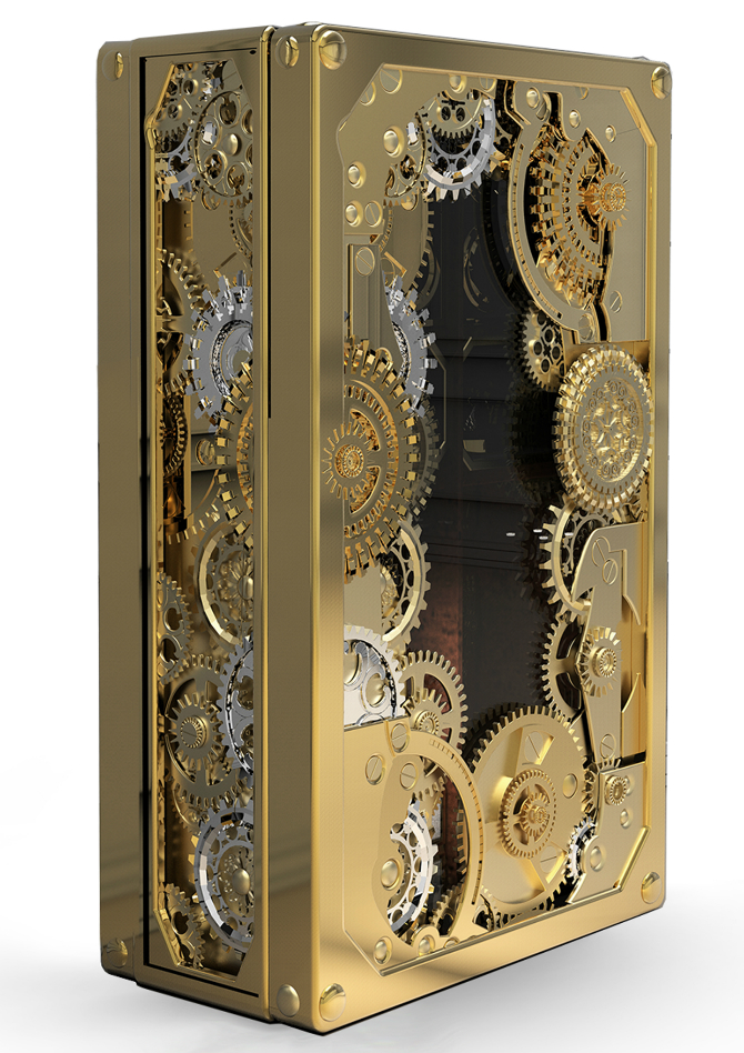 Timeless Luxury Safes For The Modern Bedroom modern bedroom Timeless Luxury Safes For The Modern Bedroom baron 2