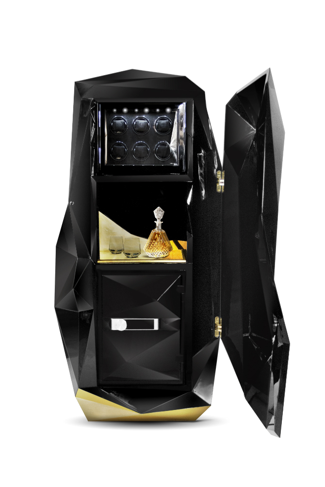 Timeless Luxury Safes For The Modern Bedroom modern bedroom Timeless Luxury Safes For The Modern Bedroom diamond safe 2