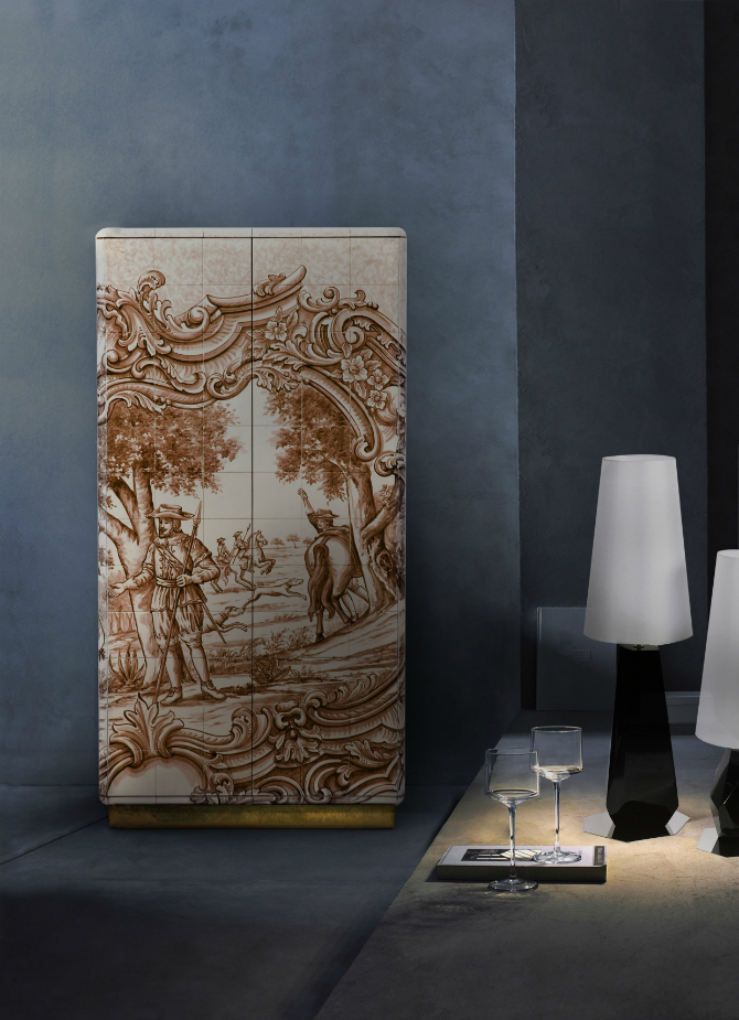 Bedroom Cabinets: The Art of Designing bedroom cabinets Bedroom Cabinets: The Art of Designing heritage sepia cabinet