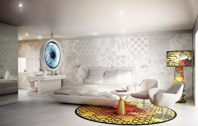 Marcel Wanders Marcel Wanders Astonishing Master Bedroom Ideas 2 12