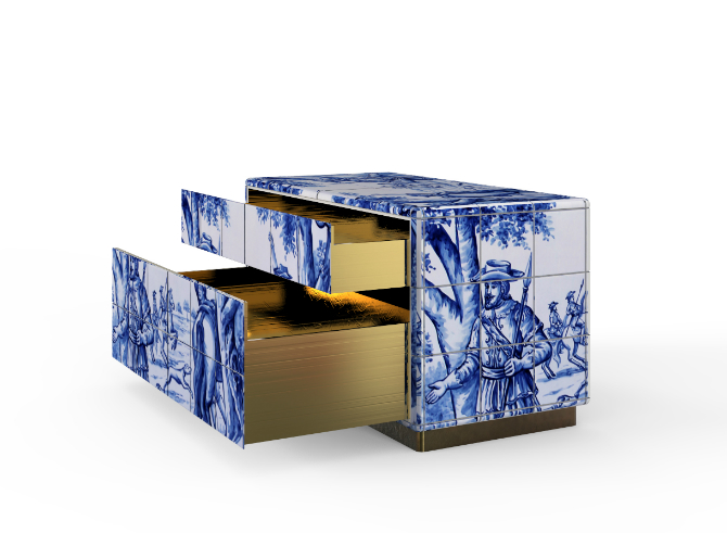 Portuguese Culture Luxury Bedroom Furniture Inspired by Portuguese Culture heritage 1