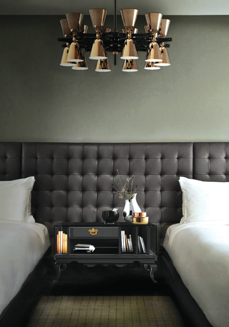 black bedrooms Stylish Black Bedrooms with Goth Glamour 10 2