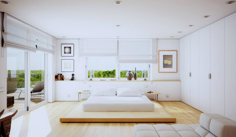 1 modern bedroom 5 Gorgeous Modern Bedroom Schemes That Will Inspire You 1 20