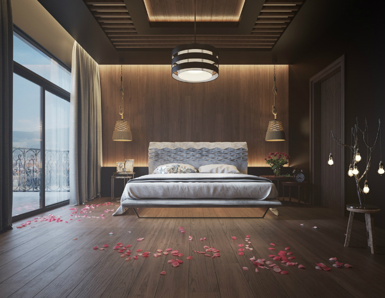 6 Steps To Make A Statement With Wood Walls In The Bedroom Set bedroom set 6 Steps To Make A Statement With Wood Walls In The Bedroom Set 1 28