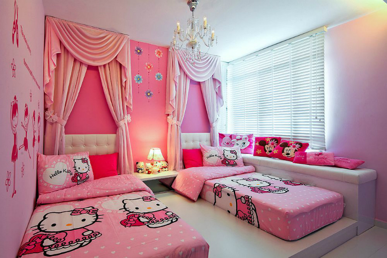 5 Hello Kitty Ideas for Girls' Bedrooms Hello Kitty 6 Hello Kitty Ideas for Girls' Bedrooms 1 34