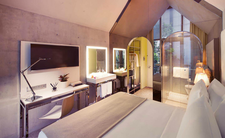 1 philippe starck Where to Stay – Philippe Starck Bedrooms for Hotel M Social Singapore 1 9