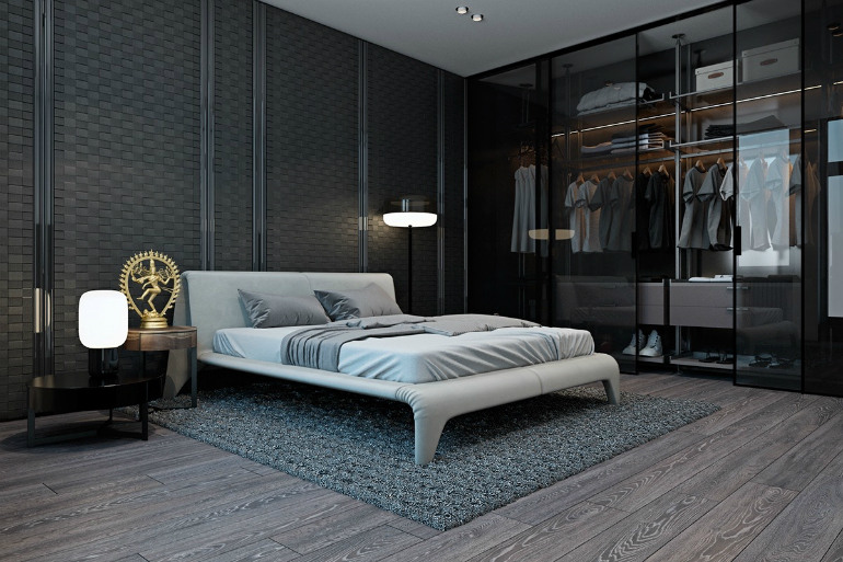 10 wardrobes 10 Good-Looking Examples Of Bedrooms With Attached Wardrobes 10 3