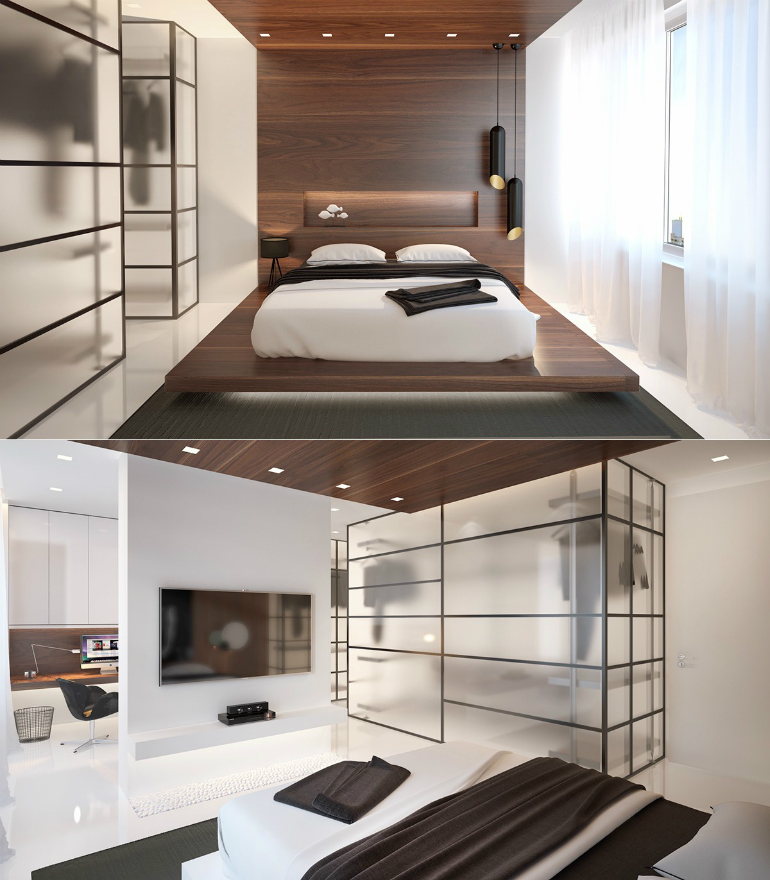 10 Good-Looking Examples Of Bedrooms With Attached Wardrobes wardrobes 10 Good-Looking Examples Of Bedrooms With Attached Wardrobes 2 30