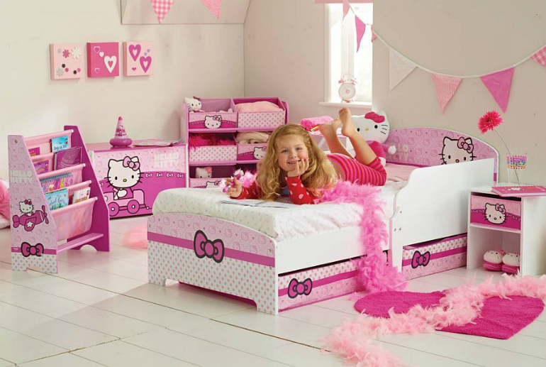 3 Hello Kitty 6 Hello Kitty Ideas for Girls' Bedrooms 3 33