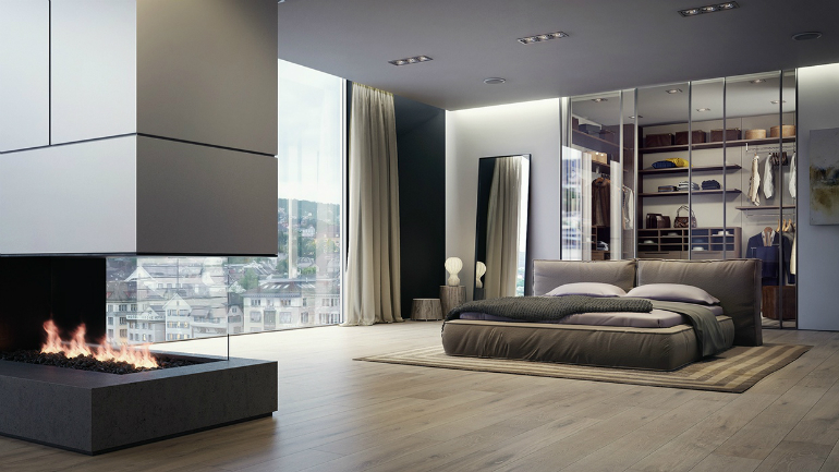 10 Good-Looking Examples Of Bedrooms With Attached Wardrobes wardrobes 10 Good-Looking Examples Of Bedrooms With Attached Wardrobes 4 33