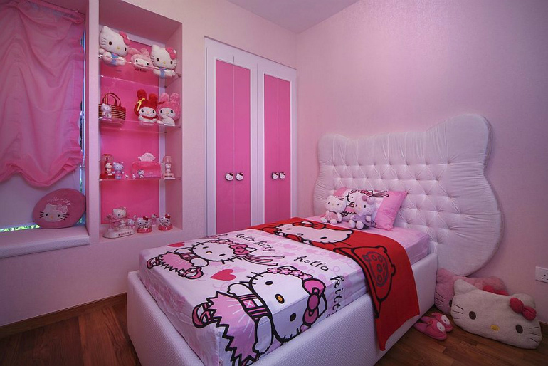 4 Hello Kitty 6 Hello Kitty Ideas for Girls' Bedrooms 4 35