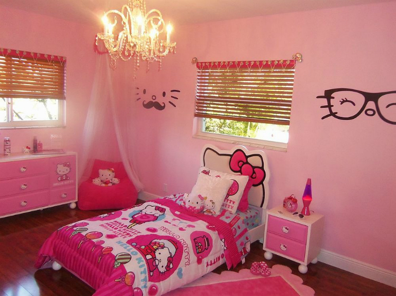 5 Hello Kitty 6 Hello Kitty Ideas for Girls' Bedrooms 5 31