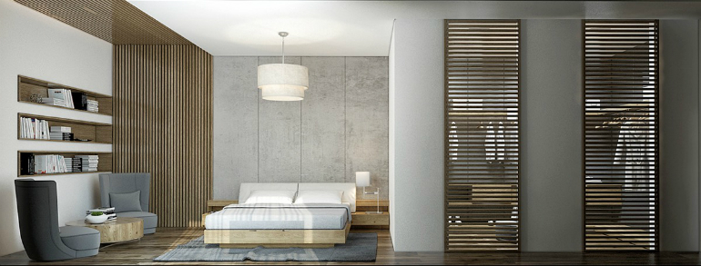 10 Good-Looking Examples Of Bedrooms With Attached Wardrobes wardrobes 10 Good-Looking Examples Of Bedrooms With Attached Wardrobes 6 12