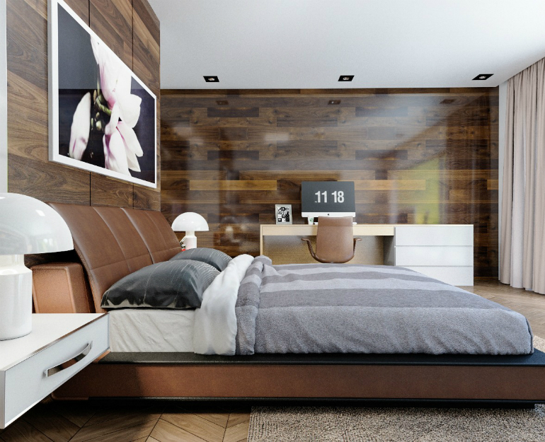 6 Steps To Make A Statement With Wood Walls In The Bedroom Set bedroom set 6 Steps To Make A Statement With Wood Walls In The Bedroom Set 6 8