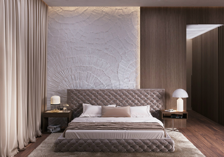 Luxury Master Bedrooms With Exclusive Wall Details luxury master bedrooms Luxury Master Bedrooms With Exclusive Wall Details 8 1