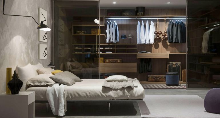 8 wardrobes 10 Good-Looking Examples Of Bedrooms With Attached Wardrobes 8 3