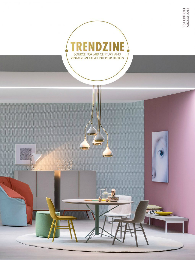 6 Mid-Century Bedrooms Trendzine: the Perfect Inspiration for Beautiful Mid-Century Bedrooms 6