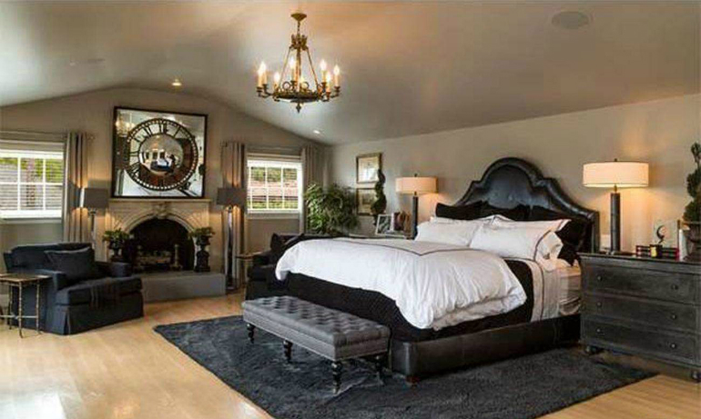 The 5 world s most passionate celebrity bedrooms master for Passionate bedroom designs