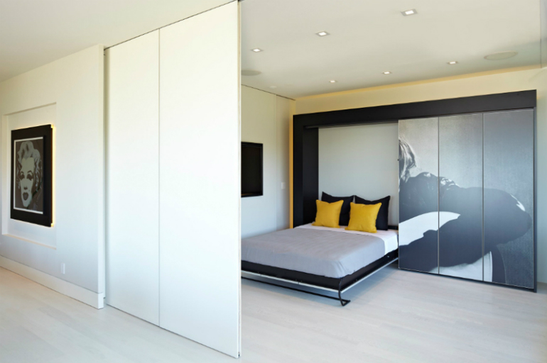 Modern-Showbiz sliding doors 10 Splendid Bedrooms with Wooden Sliding Doors Modern Showbiz