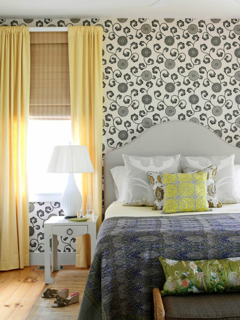 Black & White - Pattern Play Black and White 7 Modern Master Bedrooms – Black and White Edition Pattern Play 1