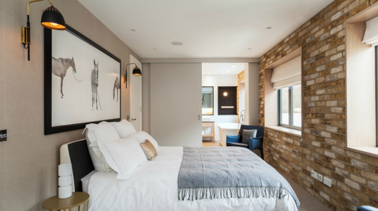 Warren-Mewss sliding doors 10 Splendid Bedrooms with Wooden Sliding Doors Warren Mewss