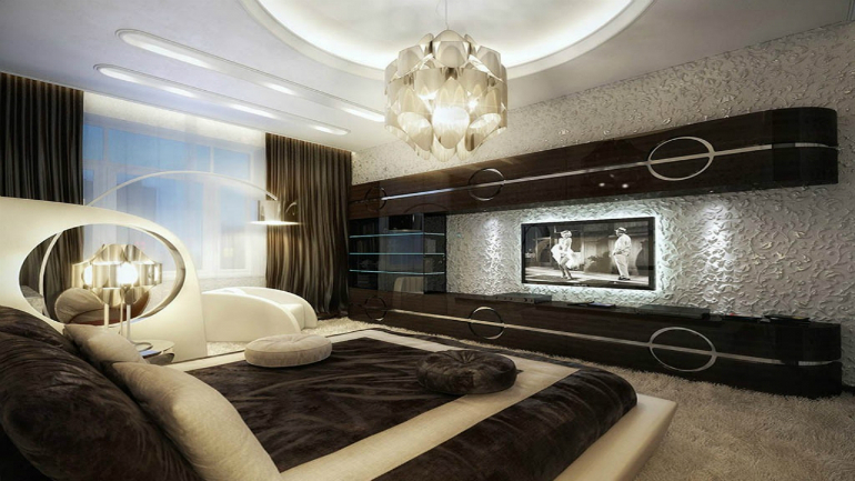 5 bedroom designs for a different sleeping space master for Luxury hotel bedroom interior design