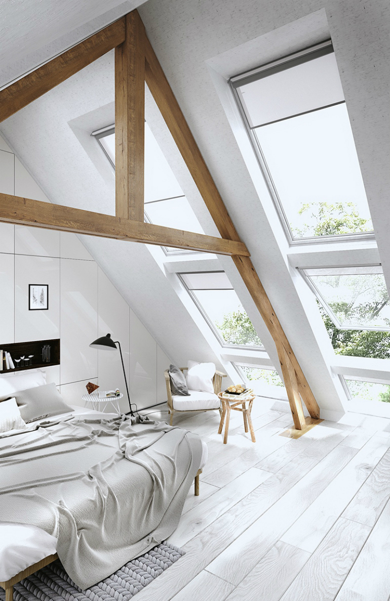 The Bedroom Attics of Your Dreams Bedroom Attics The Bedroom Attics of Your Dreams 8 1
