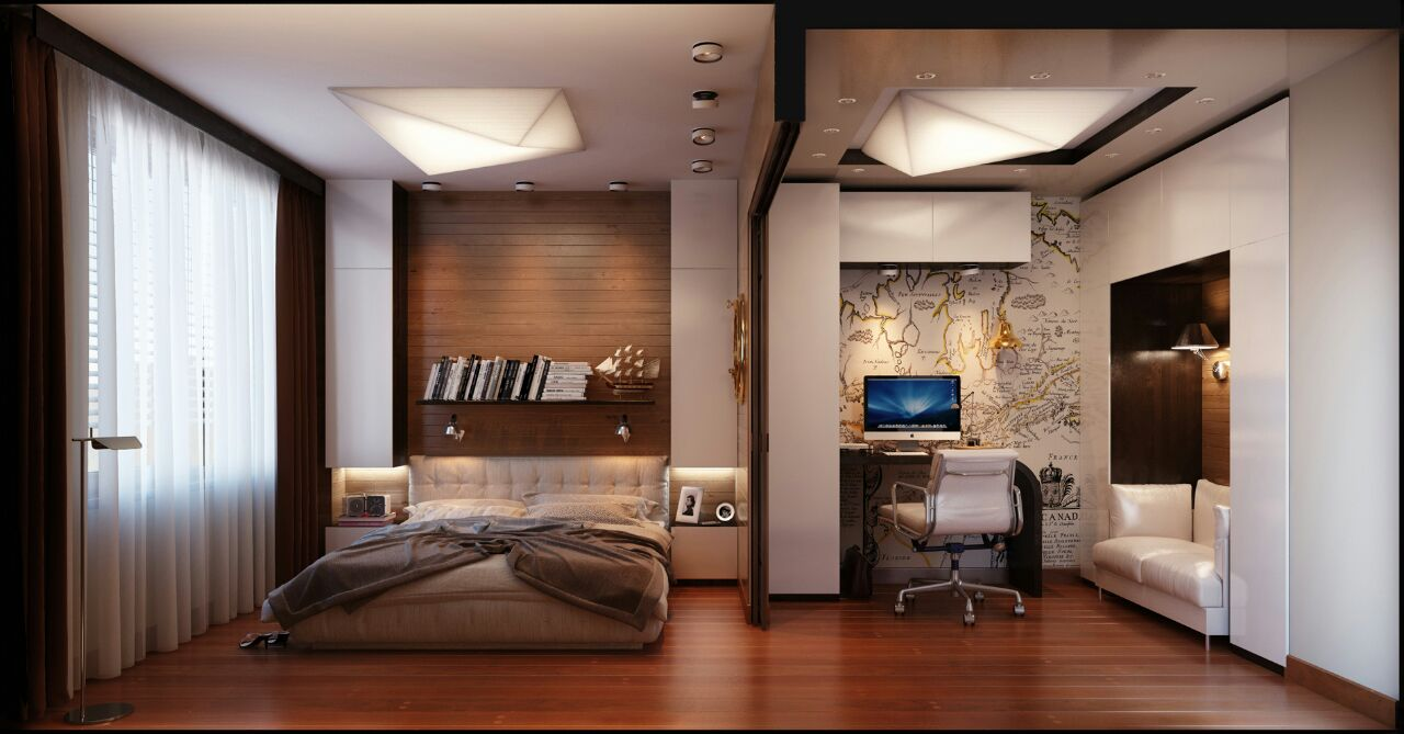 Masculine bedroom designs that will give you an idea for Manly bedroom designs