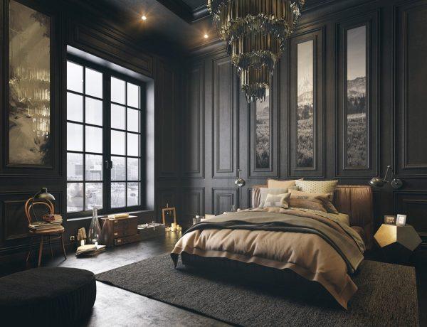 classical-dark-bedroom-style
