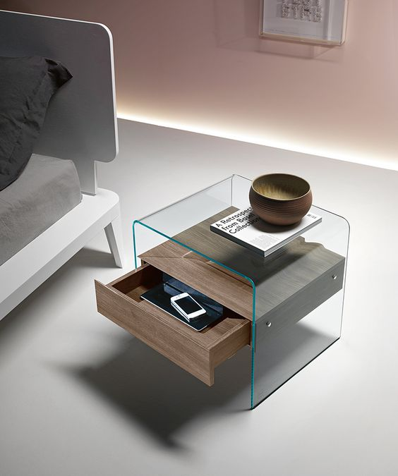 contemporary nightstand 20 Contemporary Nightstand Inspirations For Modern Master Bedroom 20 Contemporary Nightstands For a Modern Master Bedroom 18