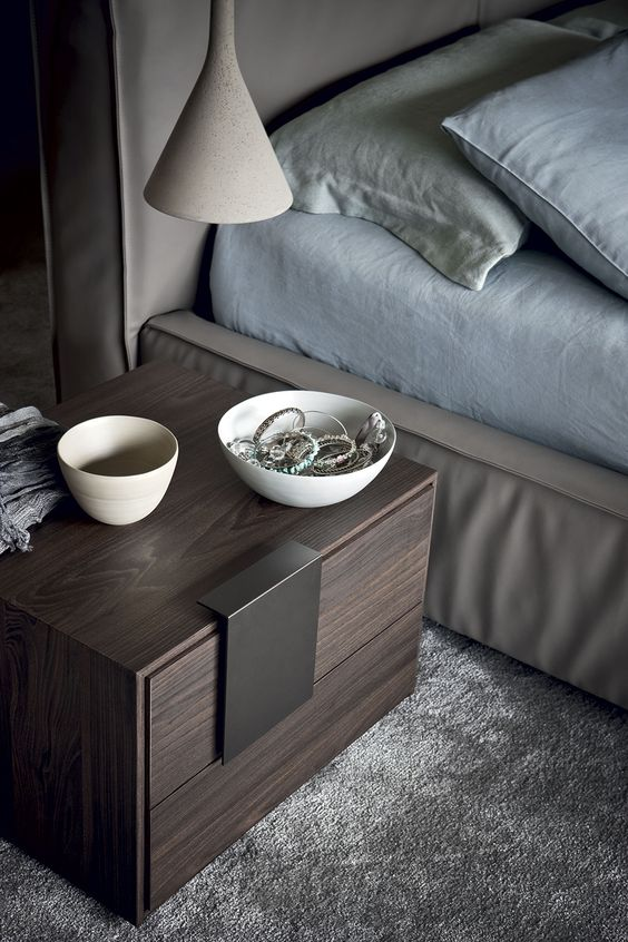 contemporary nightstand 20 Contemporary Nightstand Inspirations For Modern Master Bedroom 20 Contemporary Nightstands For a Modern Master Bedroom 8